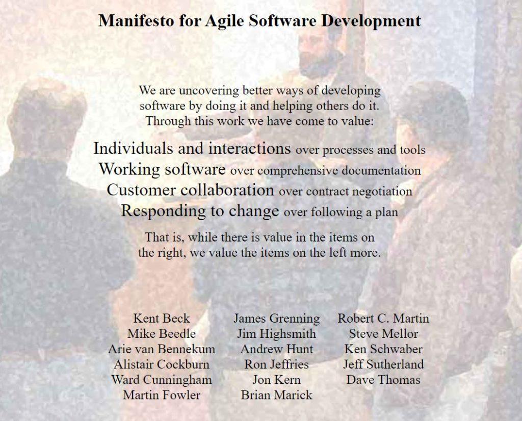 Agile Manifesto Scrum