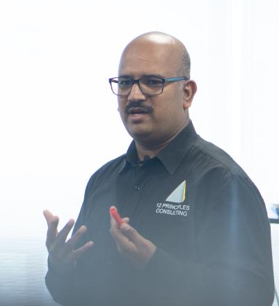 Naveen Nanjundappa Certified Scrum Trainer